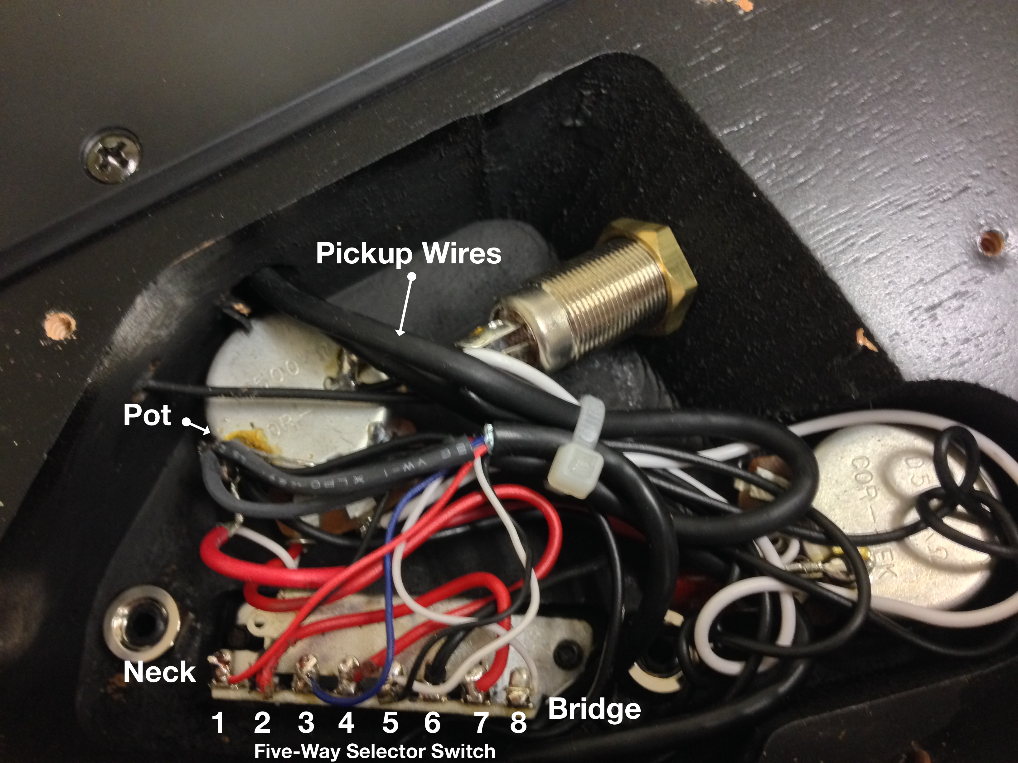 Changing the Pickups in an Ibanez S420 Guitar The inability to – Ibanez Guitar Pickup Switch Wiring Diagram