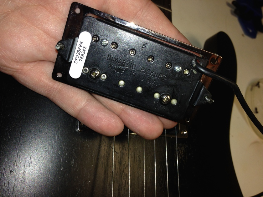 Dimarzio with height spring