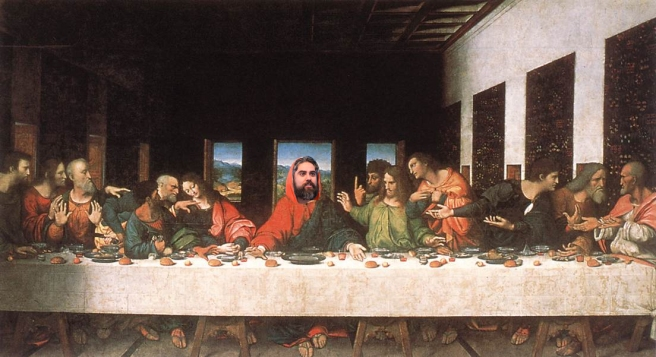Jury Christ Last Supper by GoosesLooses